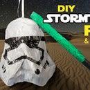 Star Wars - DIY Stormtrooper Pinata and Lightsaber Bat
