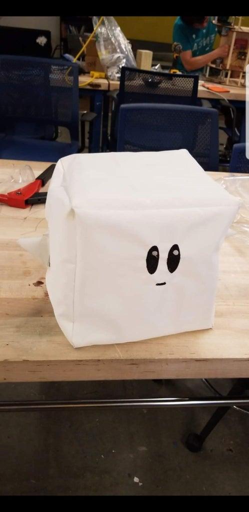 RoosterCube: Cube-Shaped Stuffed Animals!