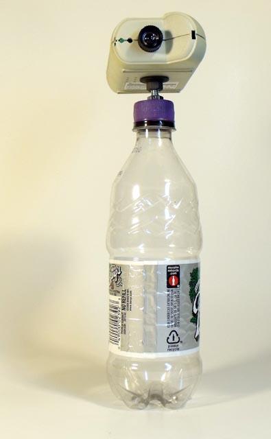 The bottlecap tripod