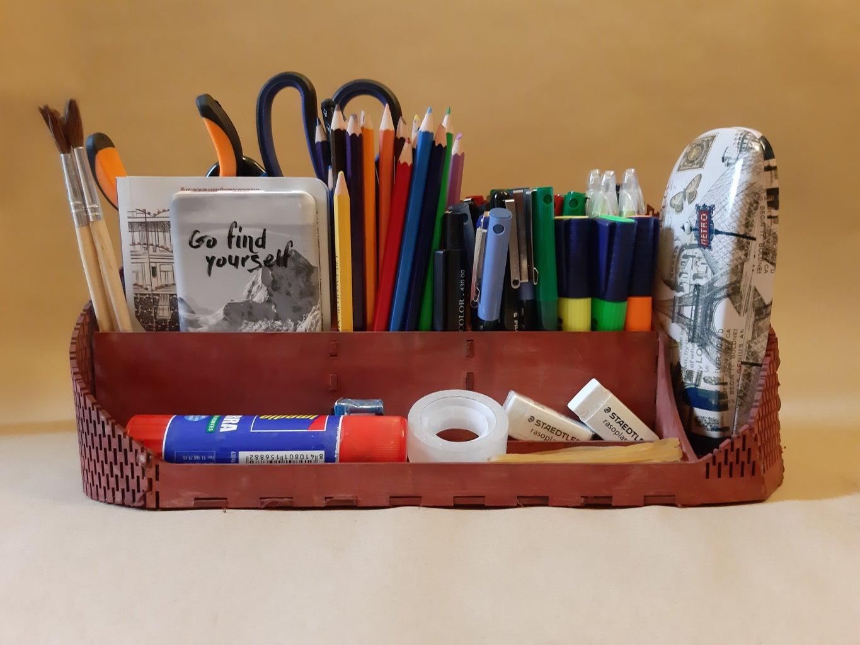 Organizador De Artículos Escolares