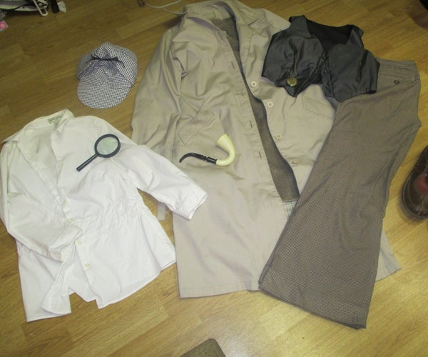 Sherlock Holmes Costume How-to, Including Deerstalker Tutorial.