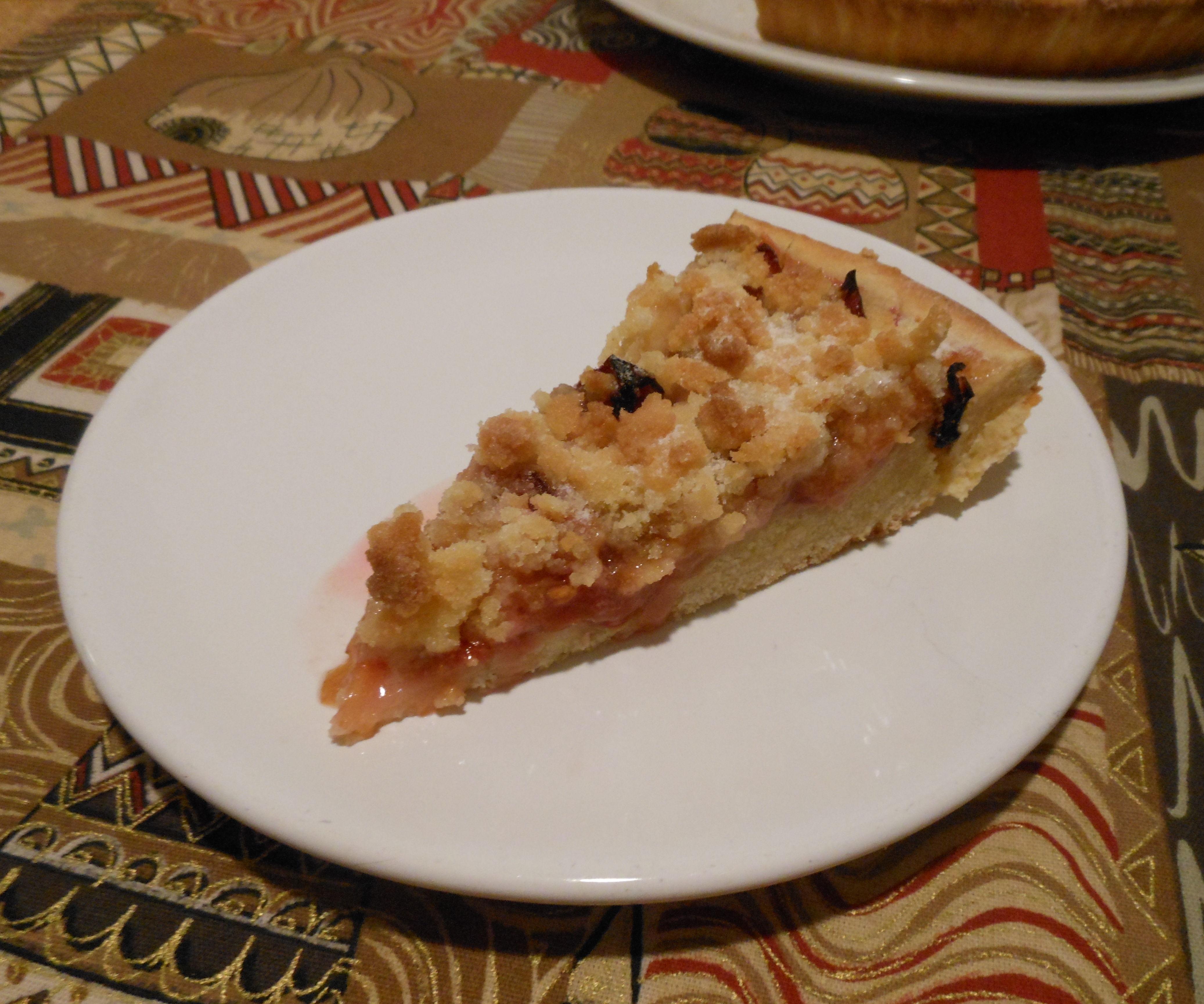 Czech plum cake