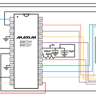Arduino MAX7219 Real Time Clock
