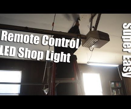 Remote Control LED Shop Light