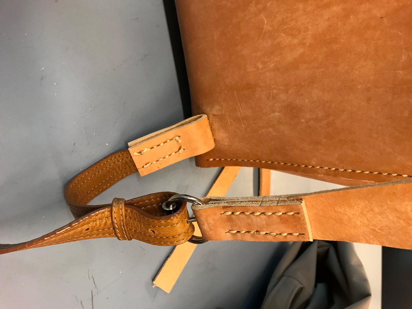 Making the Straps