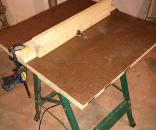 Work Bench Router Table