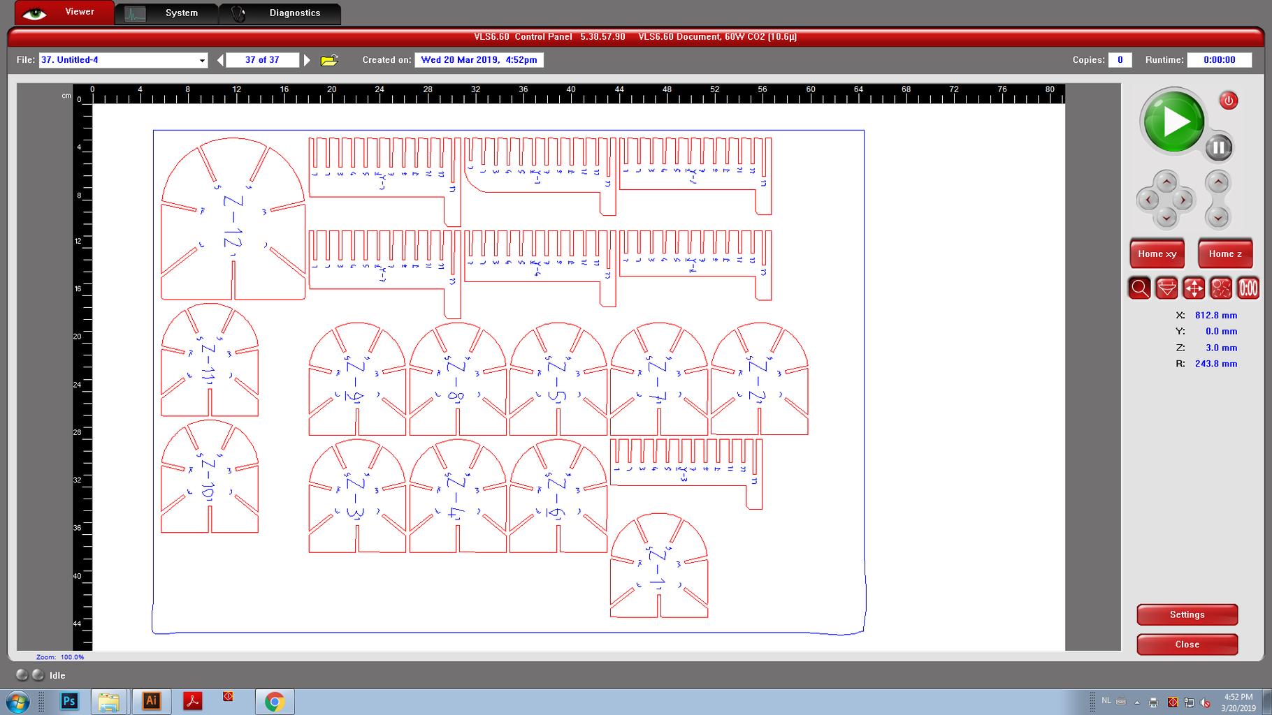 Step 2: Lasercut Preparation