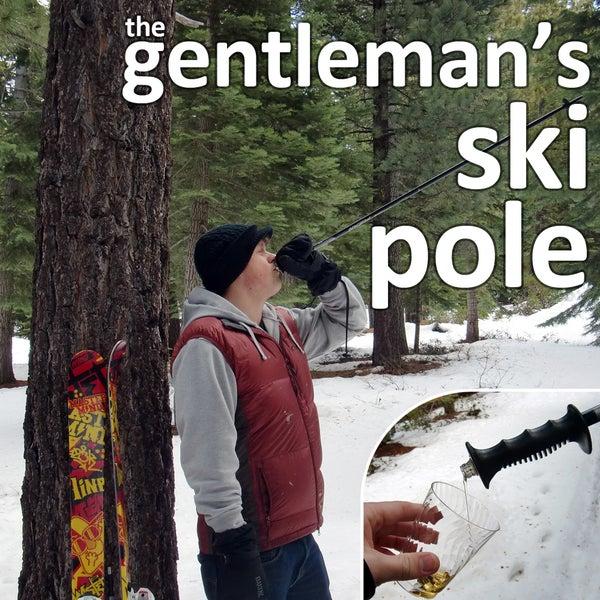 Gentleman's Ski Poles
