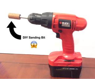 DIY Sanding Bit Hack!!!