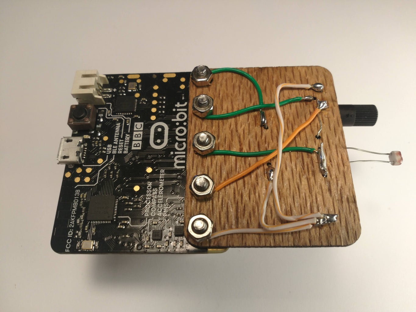 The Build : Microbit Instrument
