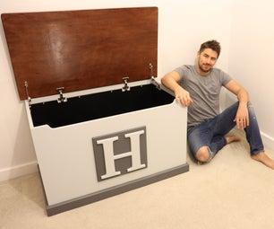 High Quality Plywood Toy Box