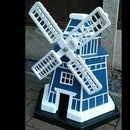 How to Make a Garden Windmill Out of a Pallet