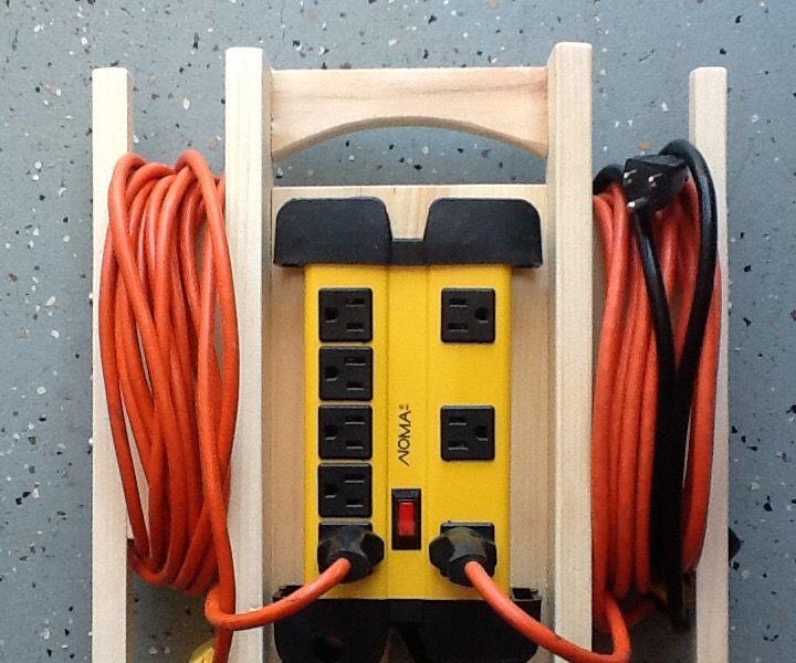 Power Bar Cord Organizer