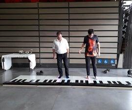 廉价的可伸缩落地钢琴