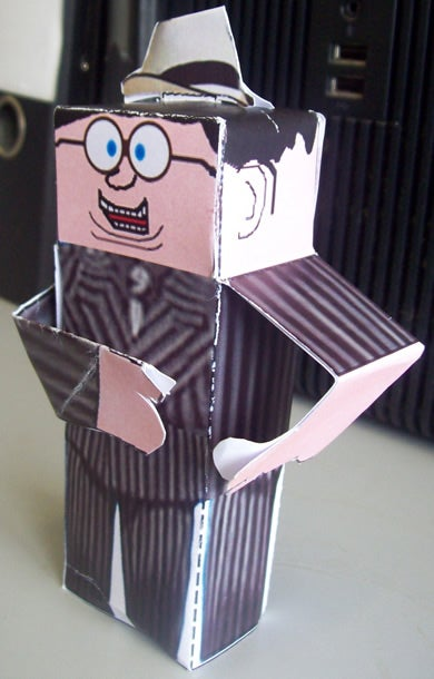 3D Net Characters