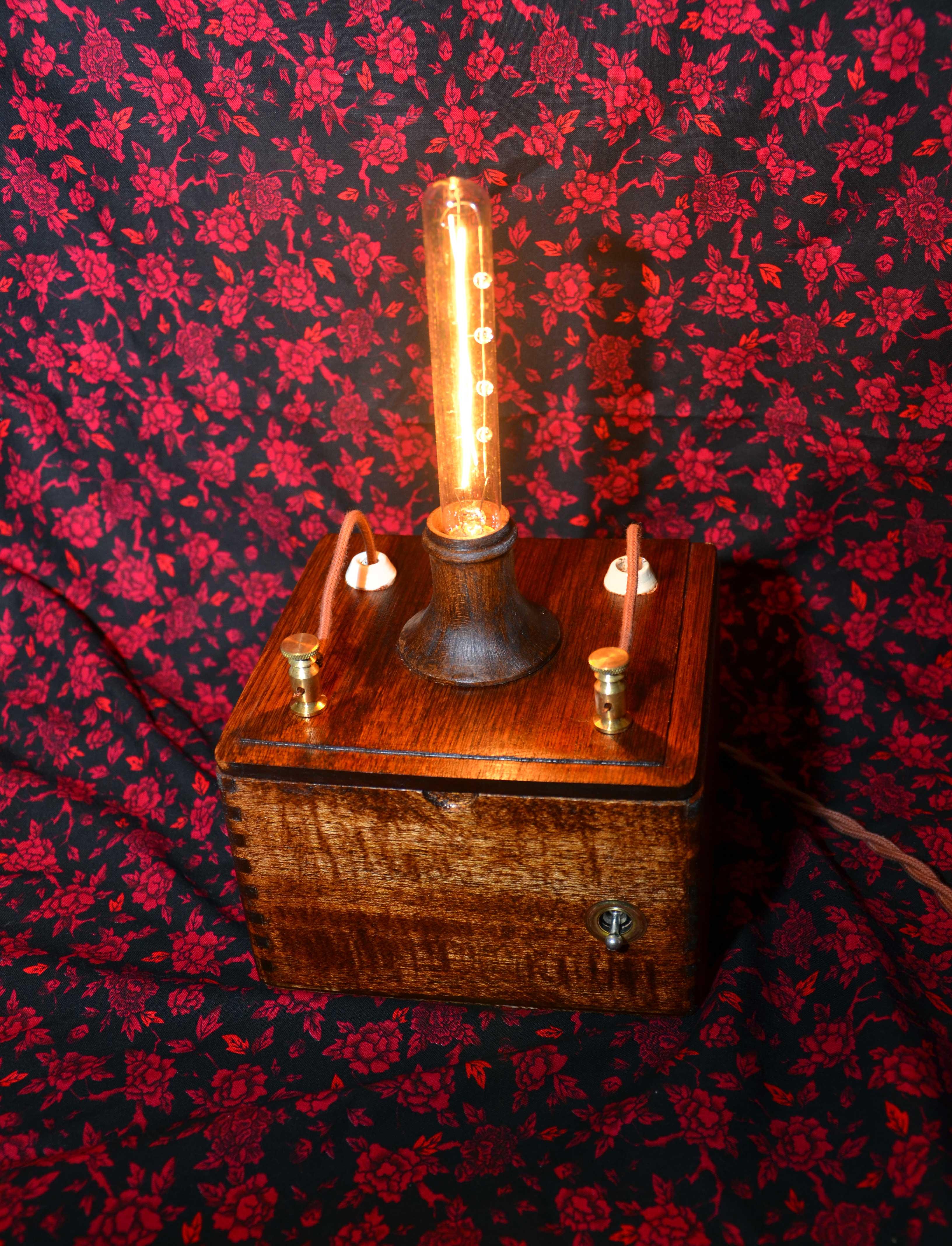 Vintage Steampunk Lamp