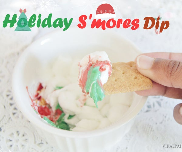 How to Make S'mores Dip in Microwave With Holiday Twist
