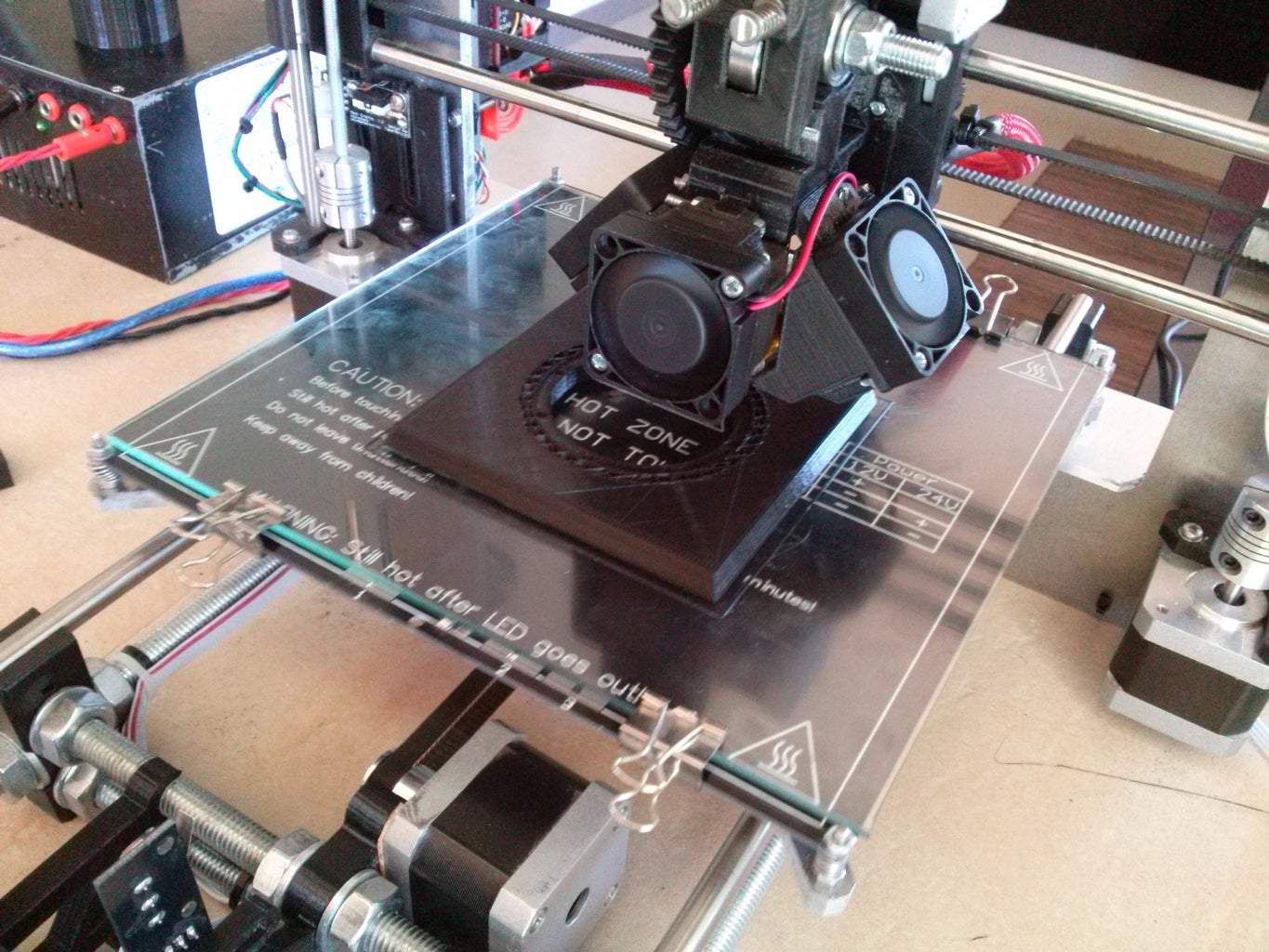 Printing the 3D Parts