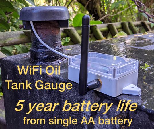 WiFi Oil Tank Monitor