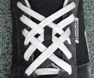Basketweave Lacing