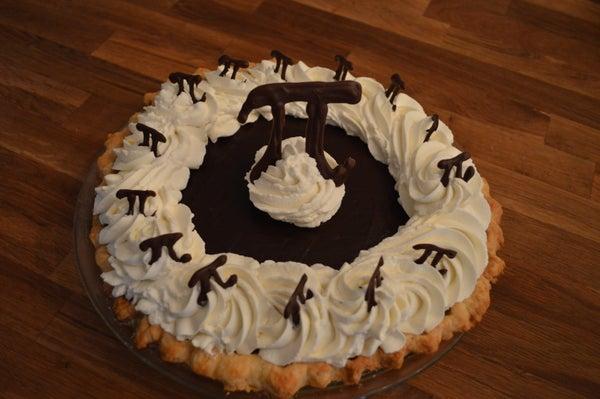 Chocolately Chocolate Cream Pi