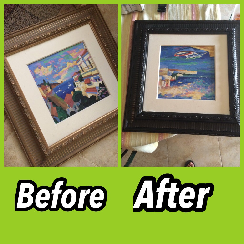 Painting Frames!