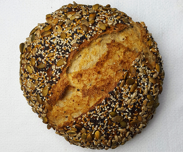 Seeded Whole Wheat Bread