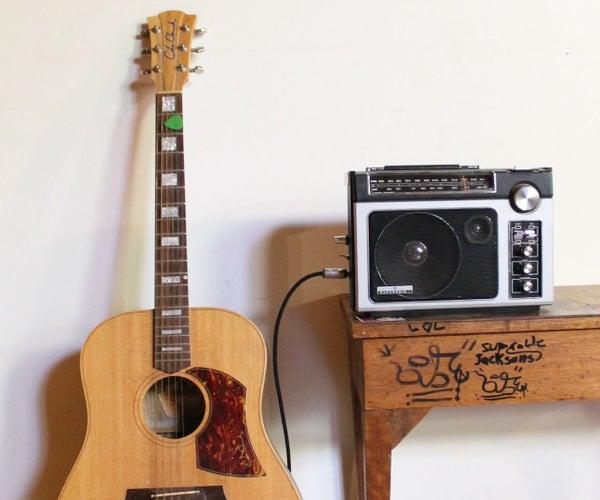 Hack Any Radio Into a Guitar Amp V2