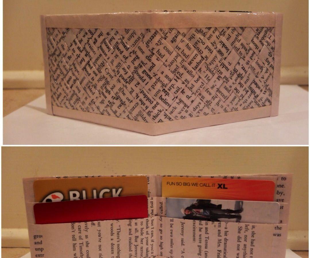 Woven Book Wallet