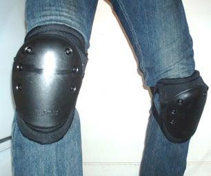 Non-Pinching Combat Knee Pads