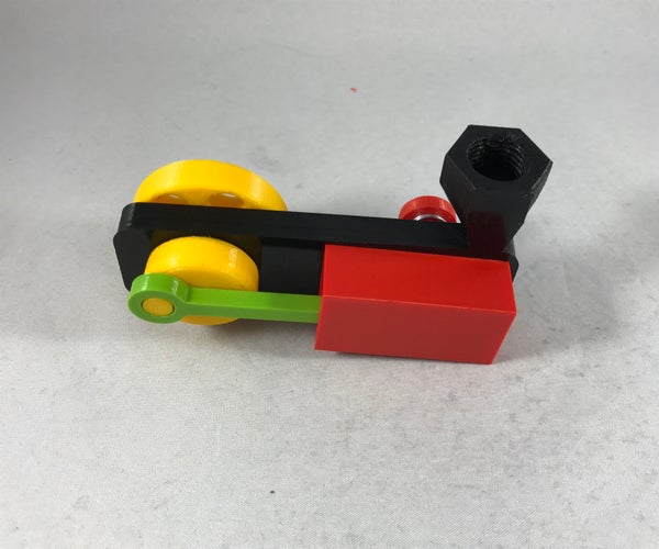 "3D Printed ""Wobbler"" Style Air Engine"
