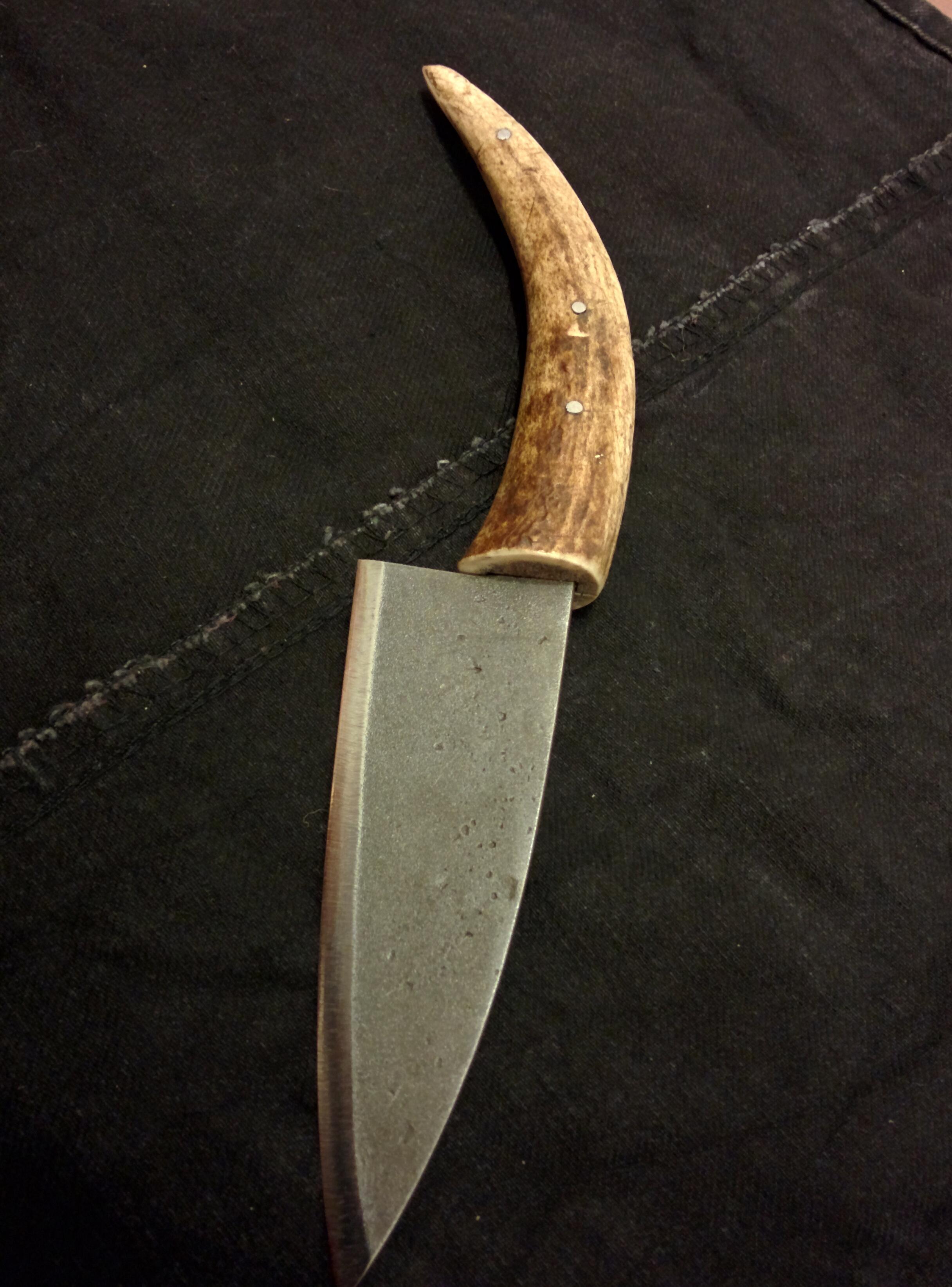 Antler Knife Handles