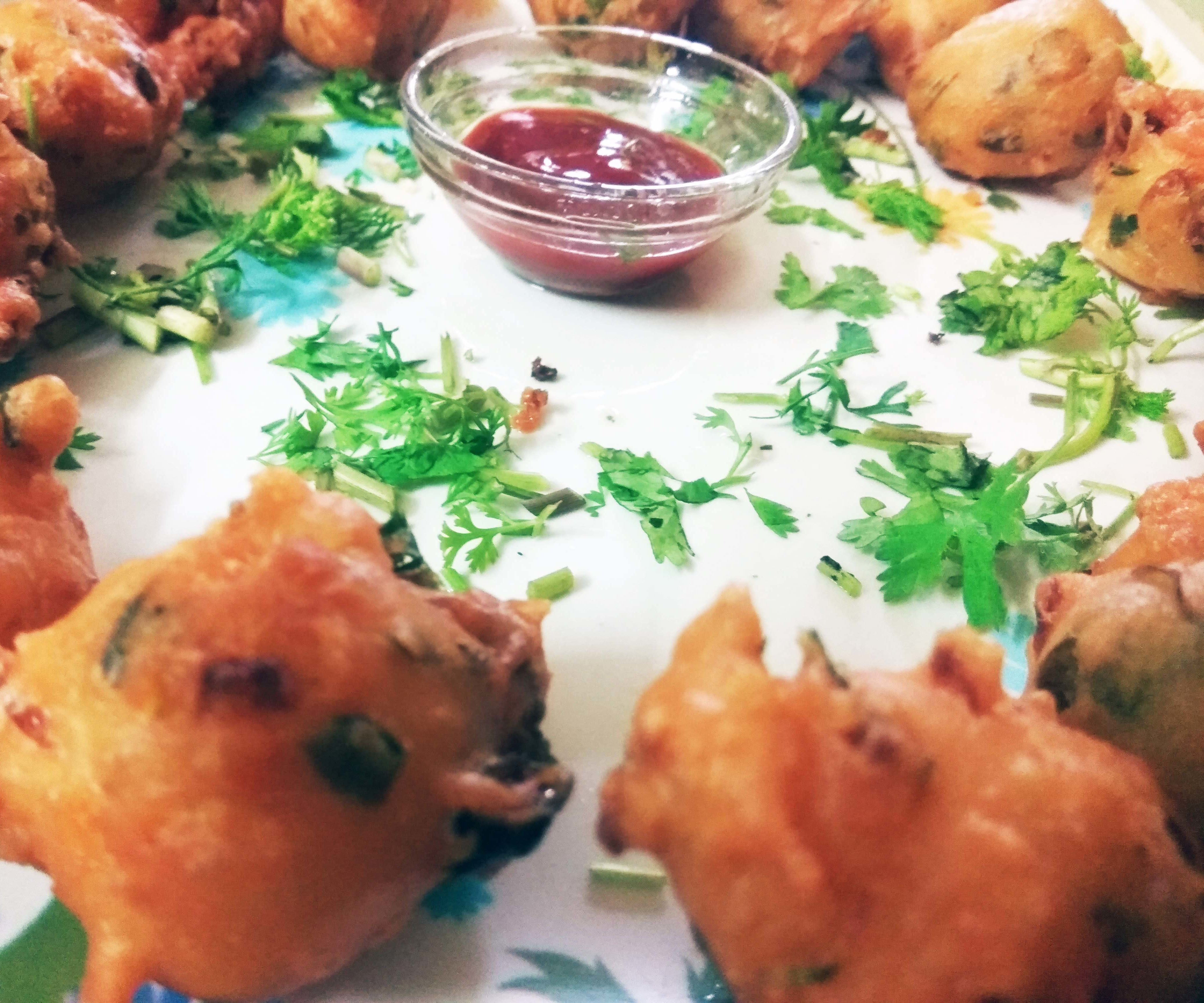Indian Style Onion Bonda