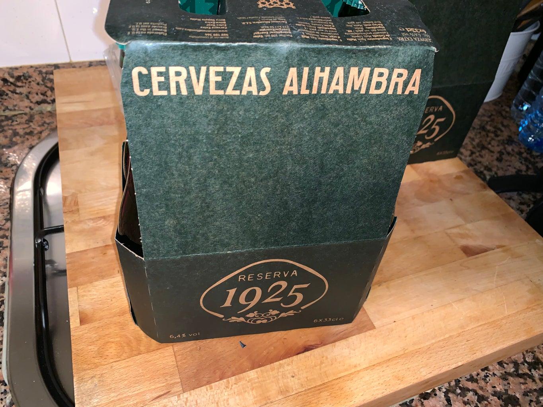 Alhambra 1925 Premium Beer Lamp by Erguro