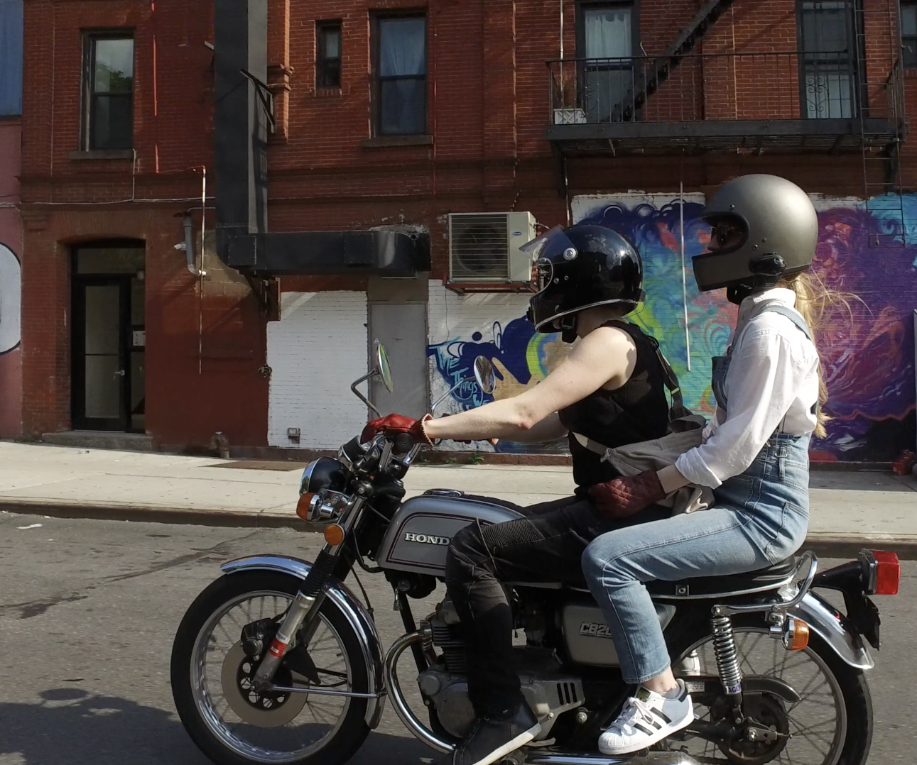 Film a Motorcycle