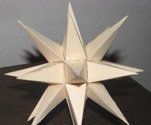 Moravian Star (Pepakura)