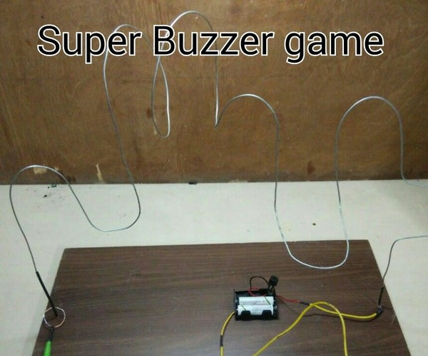 Wire Loop Game for Kids