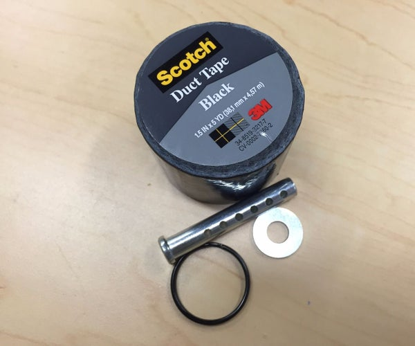 Emergency Duct Tape Keychain