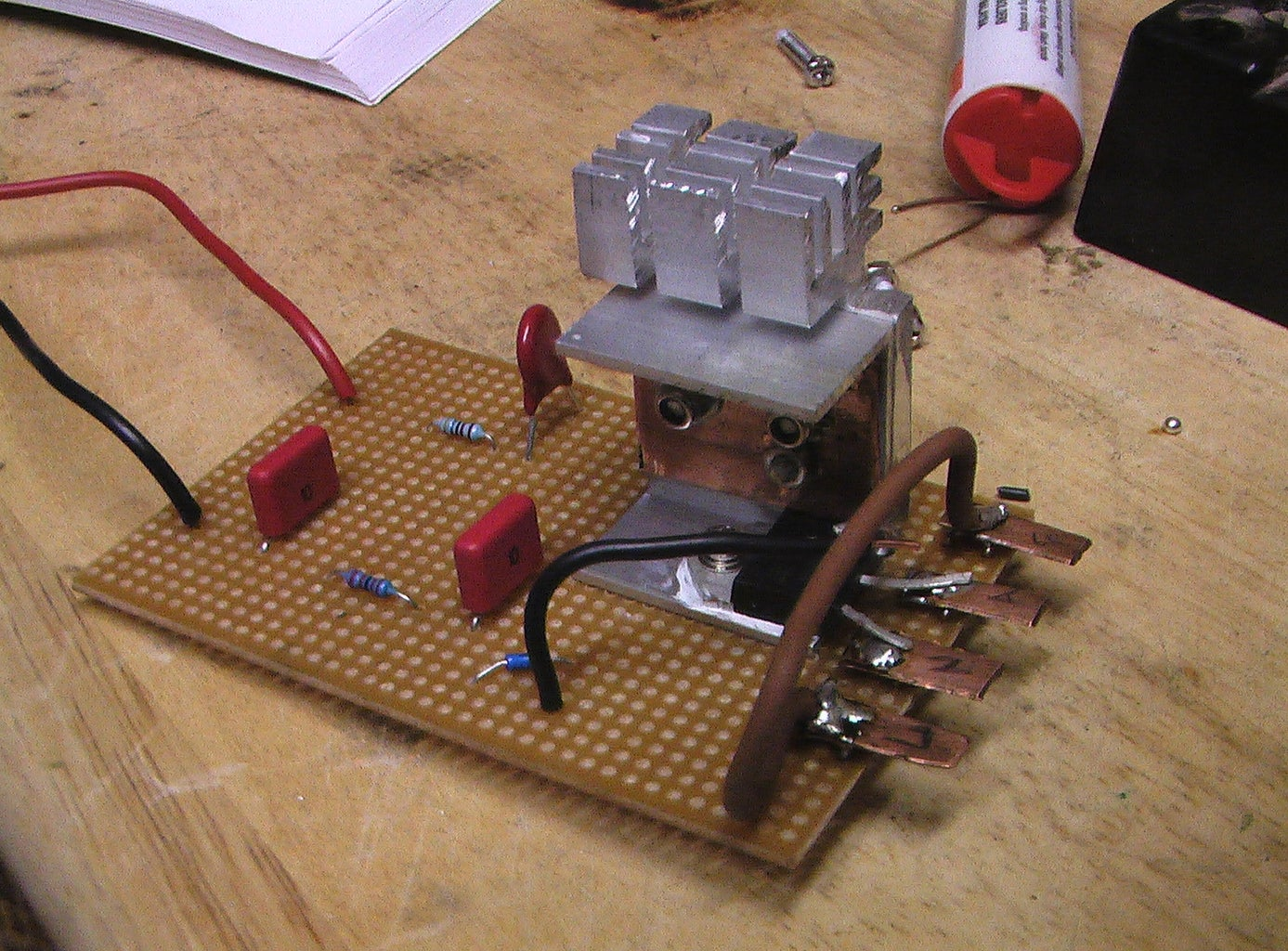 Speed Control (part 2 - Making a Simple Circuit)