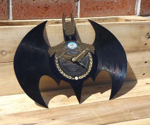 Batman Record Clock