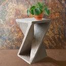 Geometric Side Table/stool