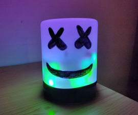 LED Marshmallow Lamp