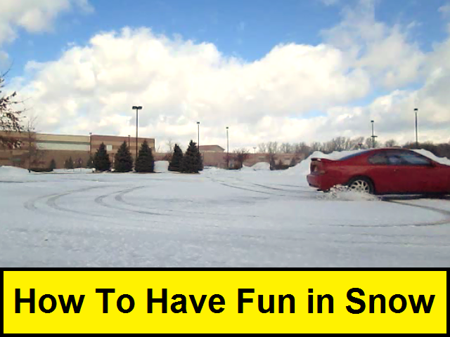 How To Have Fun in the Snow