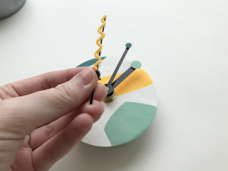 Assembling the Hands and Clock Mechanism