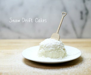 Snow Drift Cakes