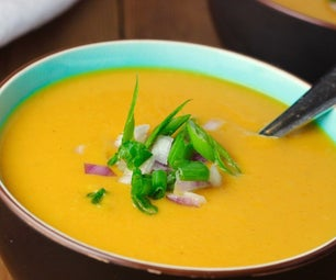 Curried Coconut Butternut Squash Soup