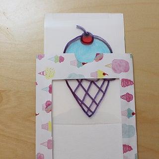 DIY Paper Magic Card