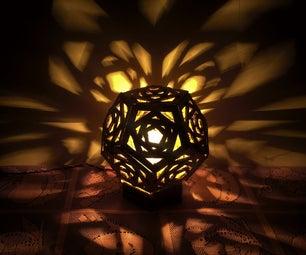 DIY Cardboard Lamp