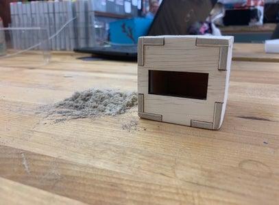 Assemble, Glue & Sand Down