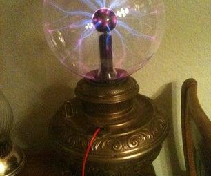 Steampunk Plasma Ball